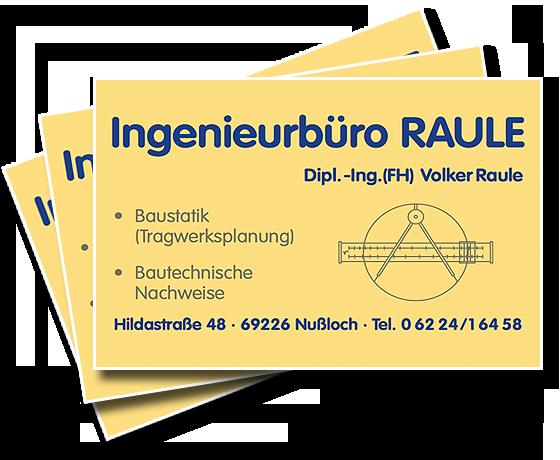 Ingenieurbüro Volker Raule Baustatische Gutachten